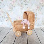 wózek dla lalek retro